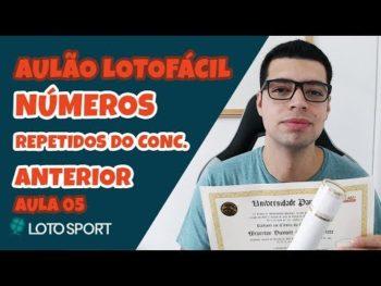 AULÃO COM DICAS PARA LOTOFACIL [Aula 05] – Números repetidos do concurso anterior