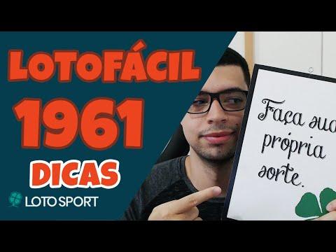 Lotofacil 1961 dicas e analises – NOVA TABELA DE MOVIMENTAÇÃO!!!
