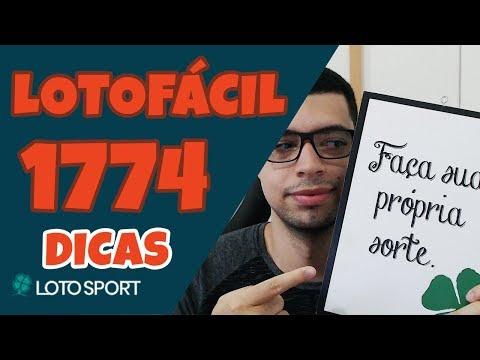 LOTOFACIL 1774 DICAS E ANÁLISE – MANUAL DO FECHAMENTO – LOTOSPORT