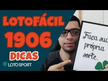 Lotofacil 1906: Dicas e Análises – Última Chamada –  LotoSport