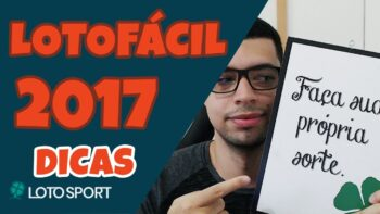 Lotofacil 2017 dicas e analises