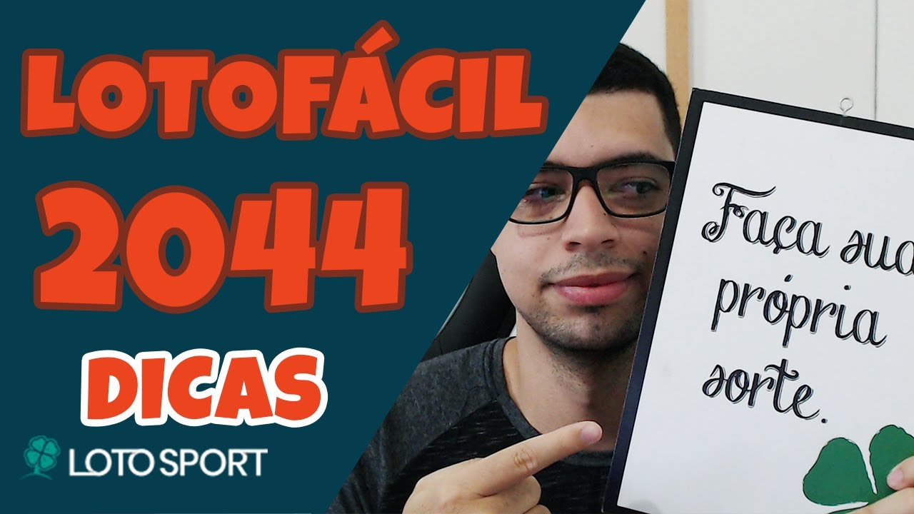 Lotofacil 2044 dicas e analises