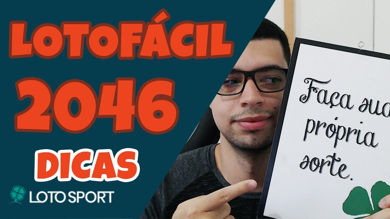 Lotofacil 2046 dicas e analises