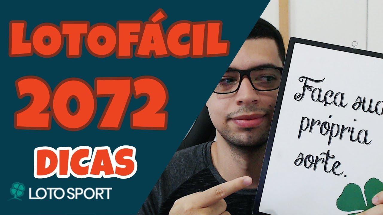 Lotofacil 2072 dicas e analises – Direto de Recife