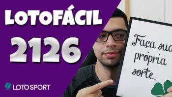 Lotofacil 2126 dicas e analises