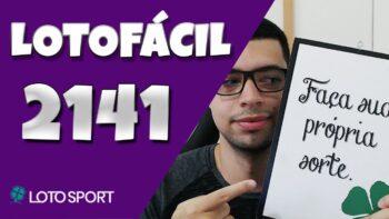 Lotofacil 2141 dicas e analises