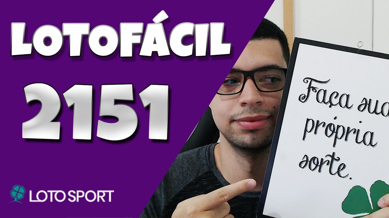 Lotofacil 2151 dicas e analises