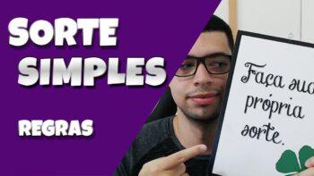 Lançamento Portal Sorte Simples – REGRAS – LANÇAMENTO DIA 15