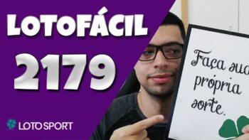 Lotofacil 2179 dicas e analises