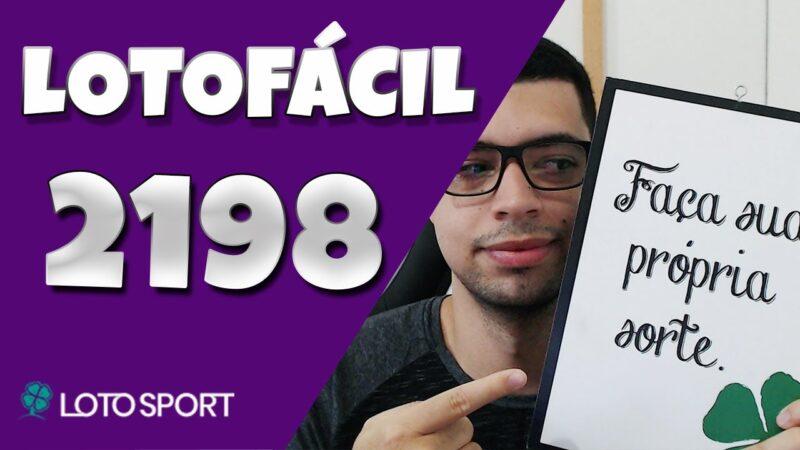 Lotofacil 2198 dicas e analises
