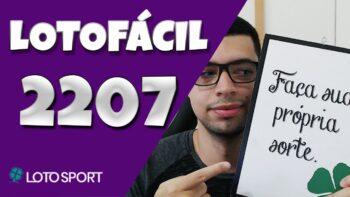 Lotofacil 2207 dicas e analises – Revelei o segredo no final!