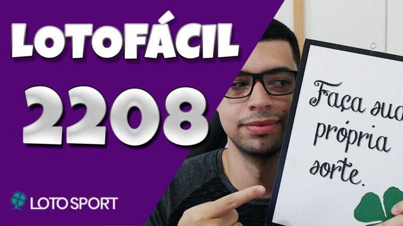 Lotofacil 2208 dicas e analises – Bolões abertos!