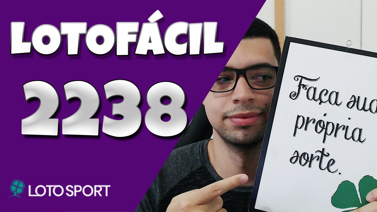 Lotofacil 2238 dicas e analises – Bolões Diponíveis!