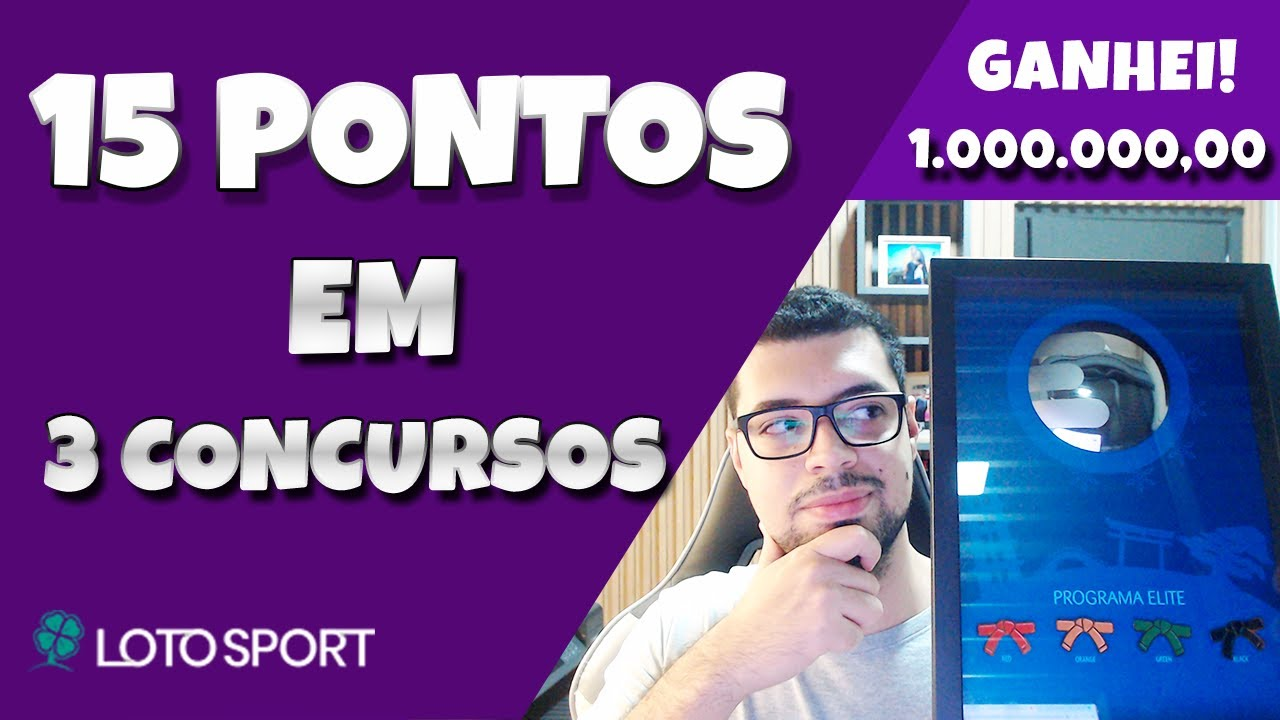 COMO GANHAR 15 PONTOS NA LOTOFACIL – GANHEI R$ 1 MILHÃO!
