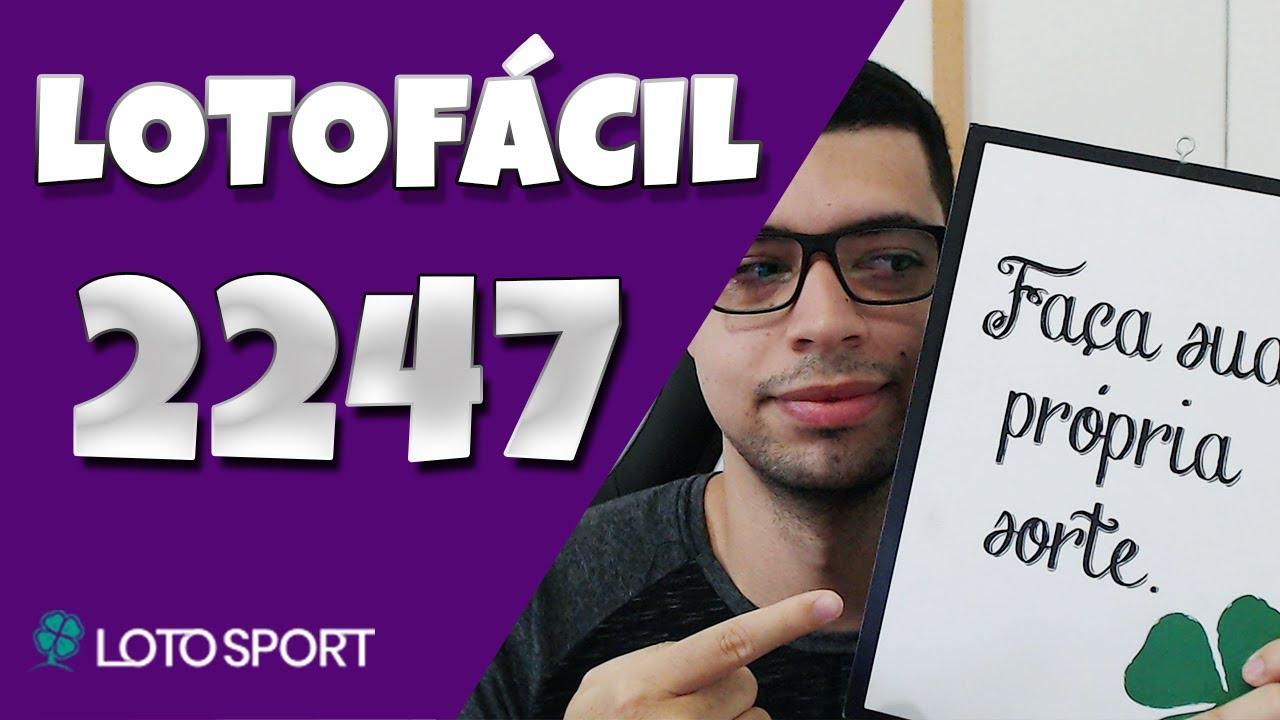 Lotofacil 2247 dicas e analises – Bolões disponíveis!