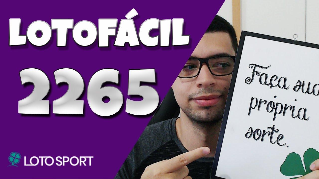 Lotofacil 2265 dicas e analises – VOLTAMOS!