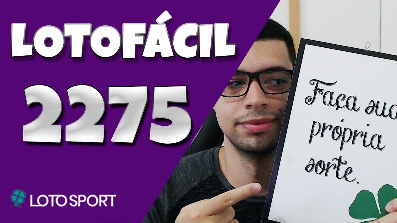 Lotofacil 2275 dicas e analises – Bolões Disponíveis!