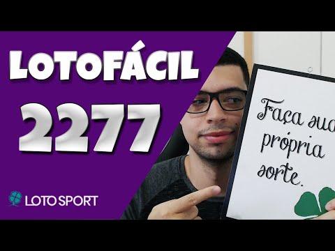 Lotofacil 2277 dicas e analises – Bolões Diponíveis!