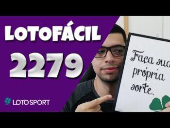 Lotofacil 2279 dicas e analises – DESAFIO LANÇADO.
