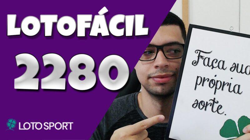 Lotofacil 2280 dicas e analises