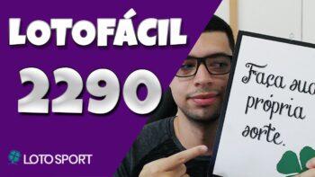 Lotofacil 2290 dicas e analises – LOTOFACIL FINAL 0!