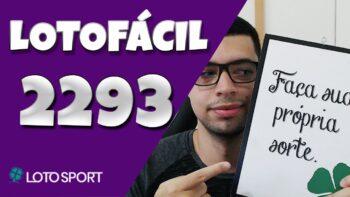 Lotofacil 2293 dicas e analises – Bolões da Independência!