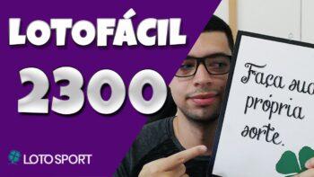 Lotofacil 2300 dicas e analises – Lotofacil Final 0