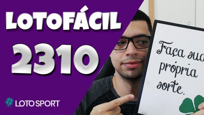 Lotofacil 2310 dicas e analises – ACUMULADA 4 MILHÕES! TEMOS BOLÕES