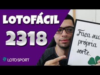 Lotofacil 2318 dicas e analises – DESAFIO PARA OS MEMBROS – MUITOS BOLÕES!