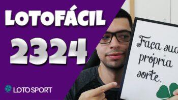 Lotofacil 2324 dicas e analises – Fizemos 3x de 14 pontos