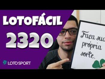 Lotofacil da Independência concurso 2320 – Montando Bolão 19Dz ao Vivo.